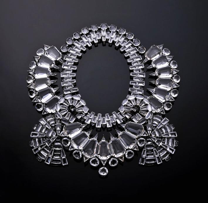 Collier con cristallo di rocca