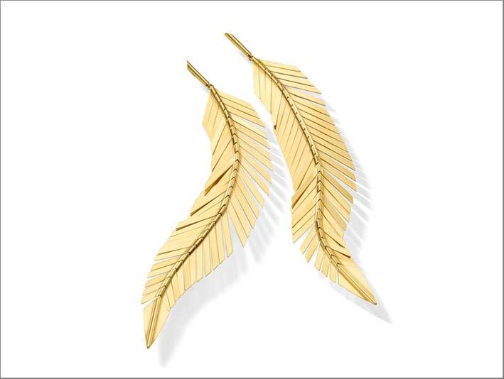 Orecchini Feathers