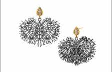 Orecchini in argento di Synia vincitori del Best in SIlver ai Couture Deisgn Awards