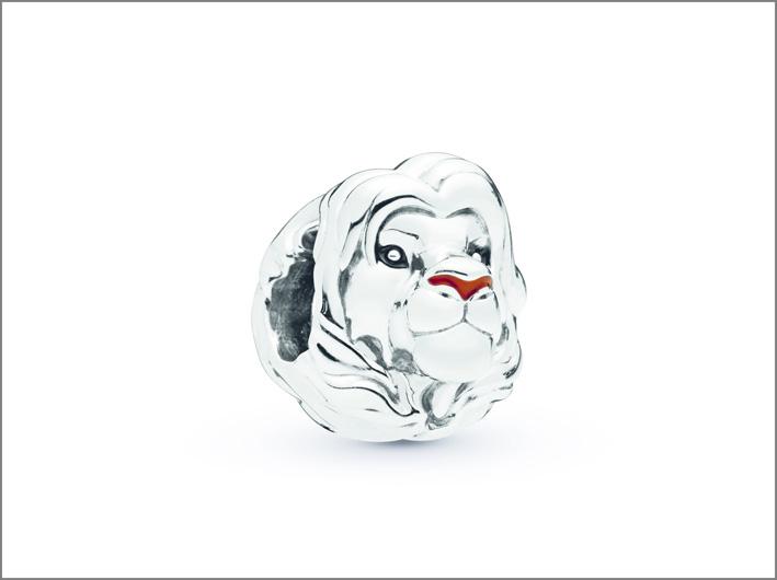 Elemento in argento Simba