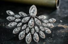 Anello Saguaro, Messika, con diamanti taglio marquise sovrapposti