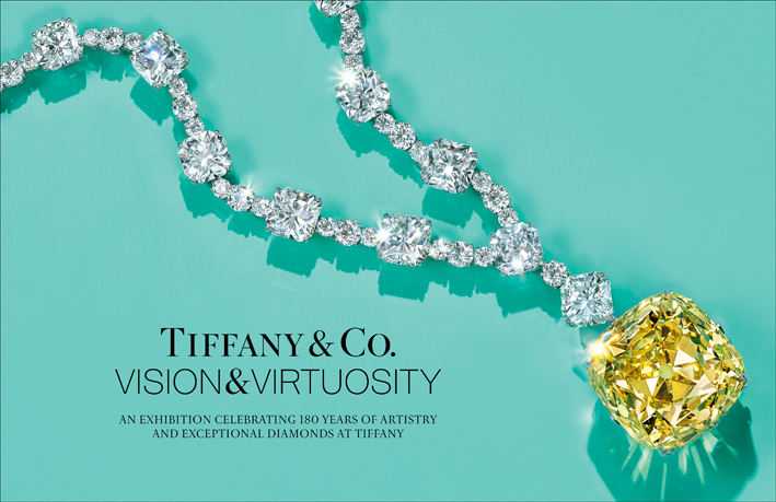 Tiffany & Co. Vision & Virtuosity exhibition. Photo: Tiffany & Co