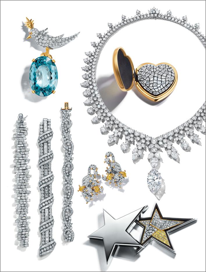 Gioielli Tiffany in mostra