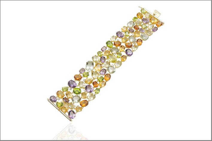 Bracciale con pietre semi preziose collezione Princeps