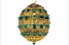 Jean Schlumberger per Ttiffany, 1956, portacipria in oro, peridoto, turchesi