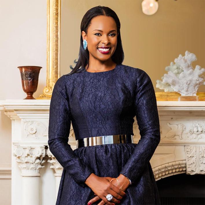 Vania Leles, fondatrice del marchio. Nata in Guinea Bissau, è cresciuta a Lisbona e Londra