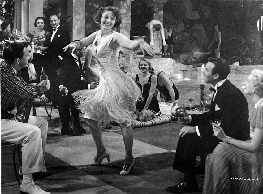 Flapper danzante, immagine d'epoca