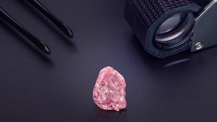 Il diamante Lesotho Pink da 13,33 carati