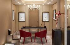 L'interno della nuova boutique di Roberto Coin a Venezia