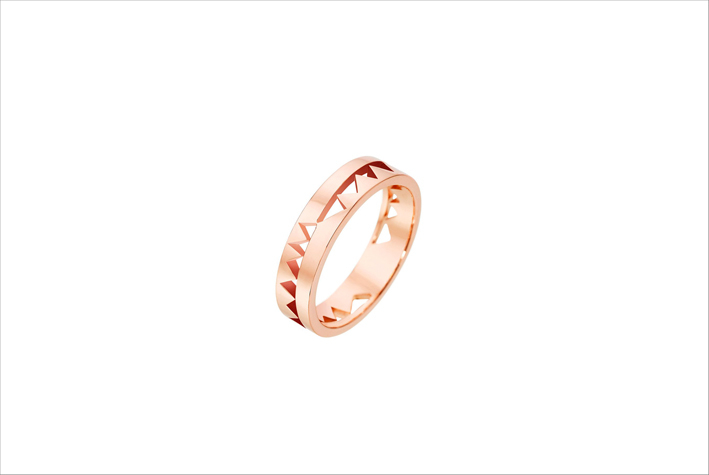 Anello Capture Me in oro rosa 18 carati