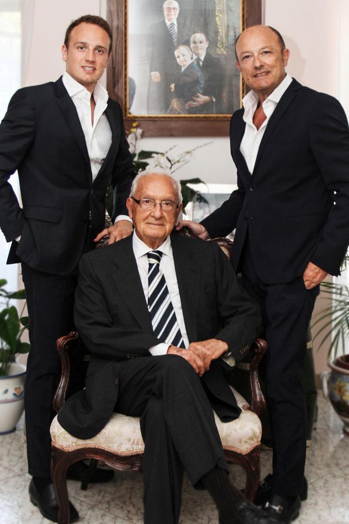 Tre generazioni di Coscia