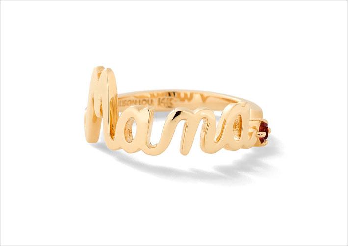 Mama Ring, in oro 14 carati