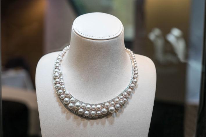 Le proporzioni reali della collana
