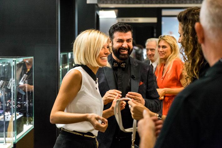 Nel booth di Alessio Boschi. Copyright: gioiellis.com