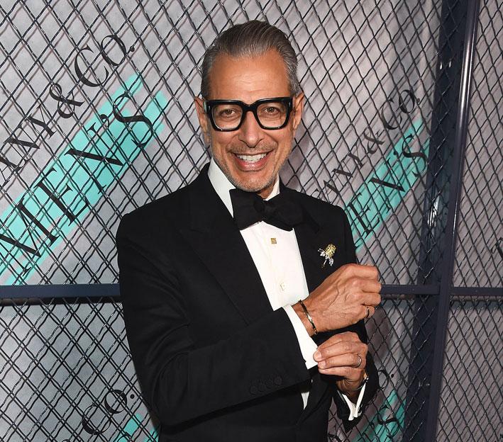 L'attore e musicista Jeff Goldblum all'evento di presentazione della collezione Tiffany Men's a Los Angeles