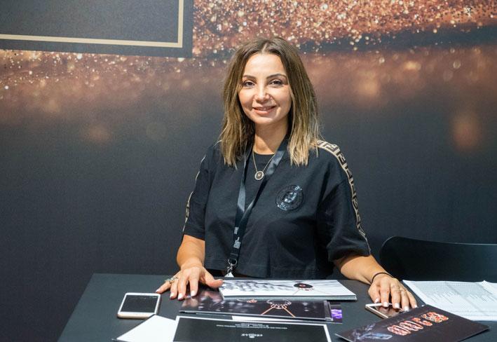 Carmen Aoun. Copyright: gioiellis.com