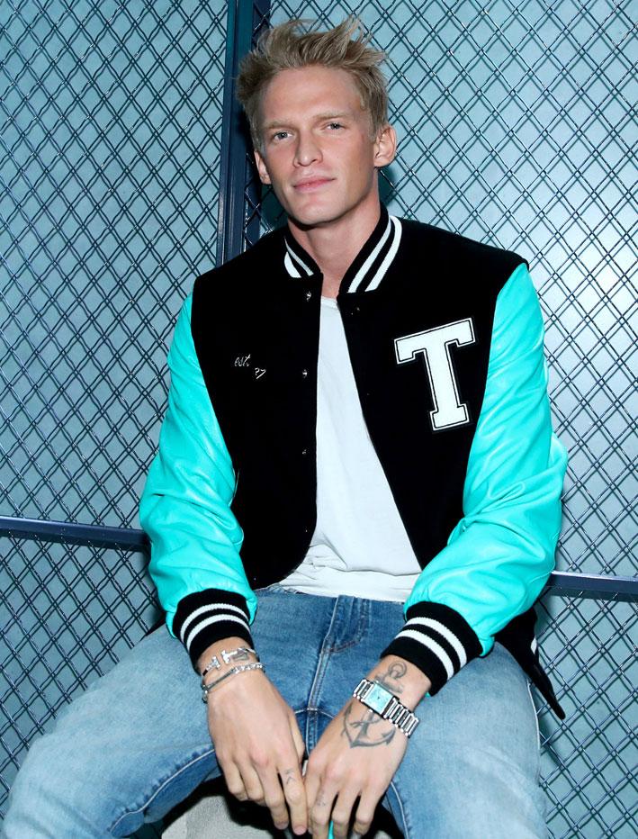 Il cantante Cody Simpson