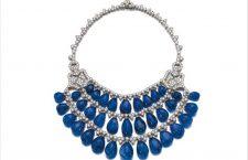 Collana con zaffiri e diamanti di Bulgari