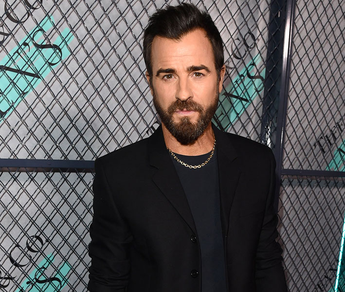L'attore Justin Theroux