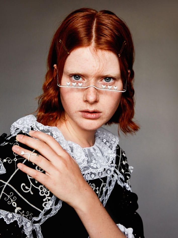 Queenie Cao, Glasses Necklace