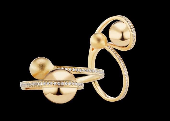 Anello della collezione Lariat Boule d'Or