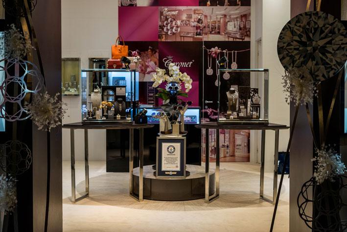 Il booth di Coronet. Copyright: gioiellis.com
