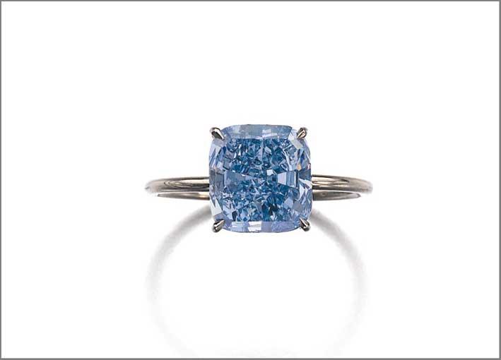 Diamante blu di 3 carati