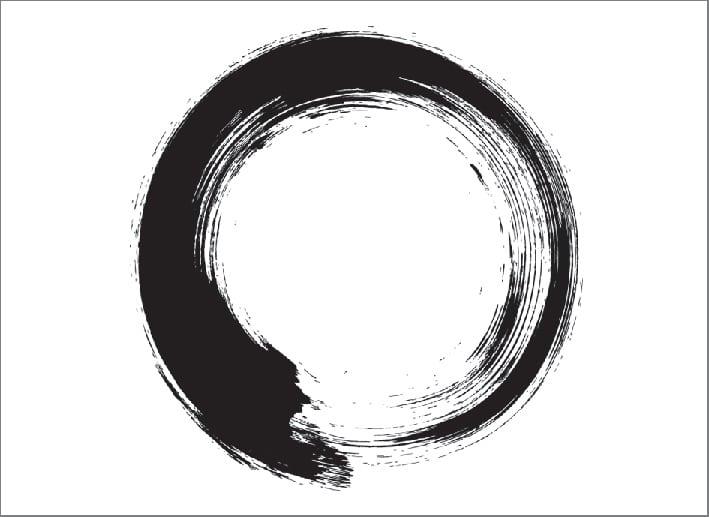 Il segno grafico giapponese ensō