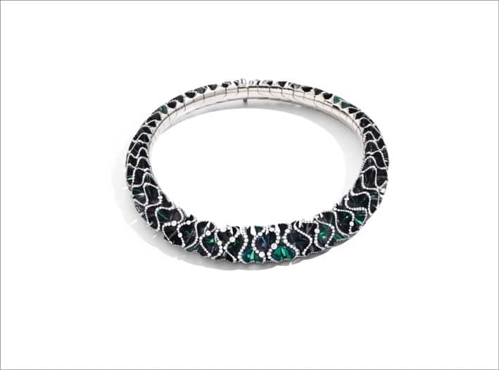 La collana Green Velvet