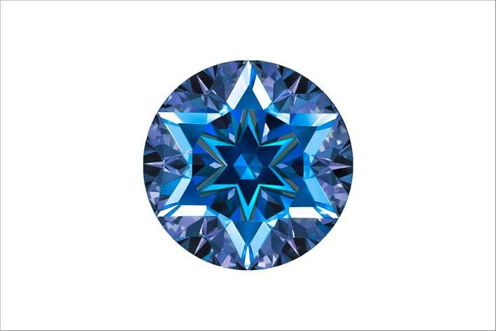 Taglio Stelo blu