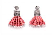 Gli orecchini con perle conch, oro bianco e diamanti che hanno vinto al Couture Awards Design 2019