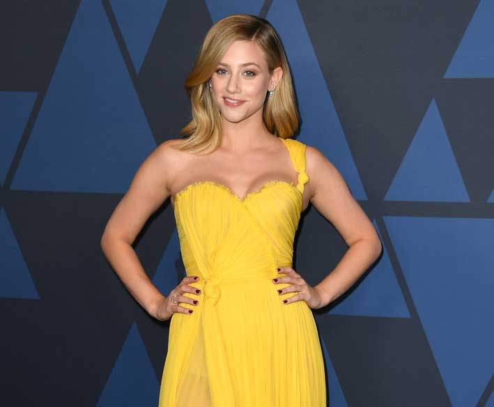 Lili Reinhart in Messika
