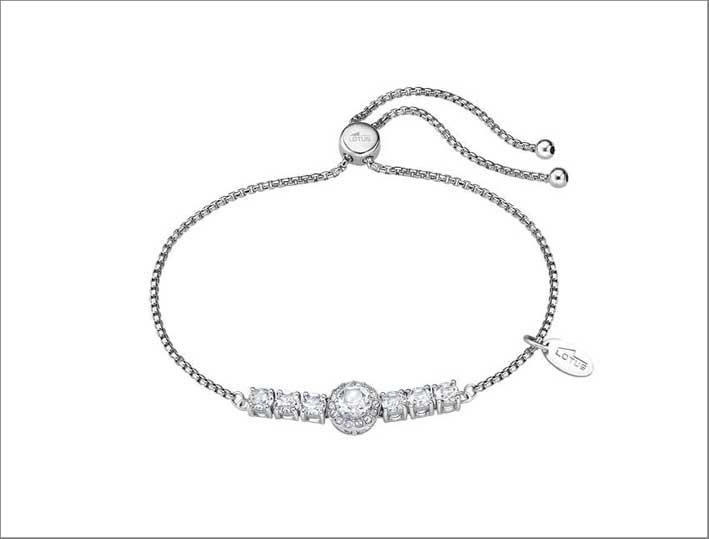Bracciale in argento della collezione Charming Lady