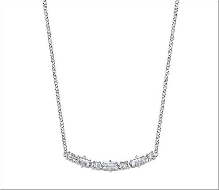 Bracciale in argento e cristalli della collezione Charming Lady