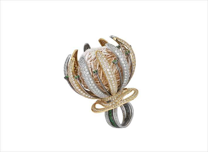 Die Juwelen (und eine außergewöhnliche Ringblumenform) von Yair Shimansky