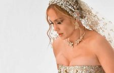 Jennifer Lopez con la collana della collezione Giardini Segreti di Pasquale Bruni