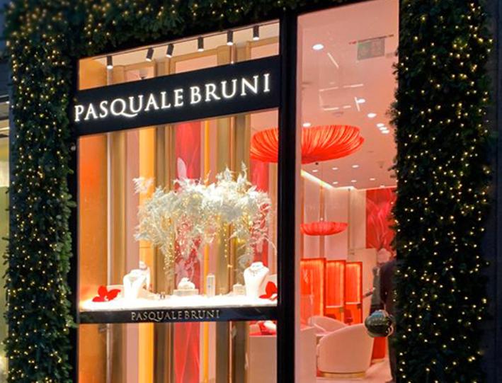 Pasquale Bruni ouvre une boutique dans la Via Monte Napoleone, à Milan