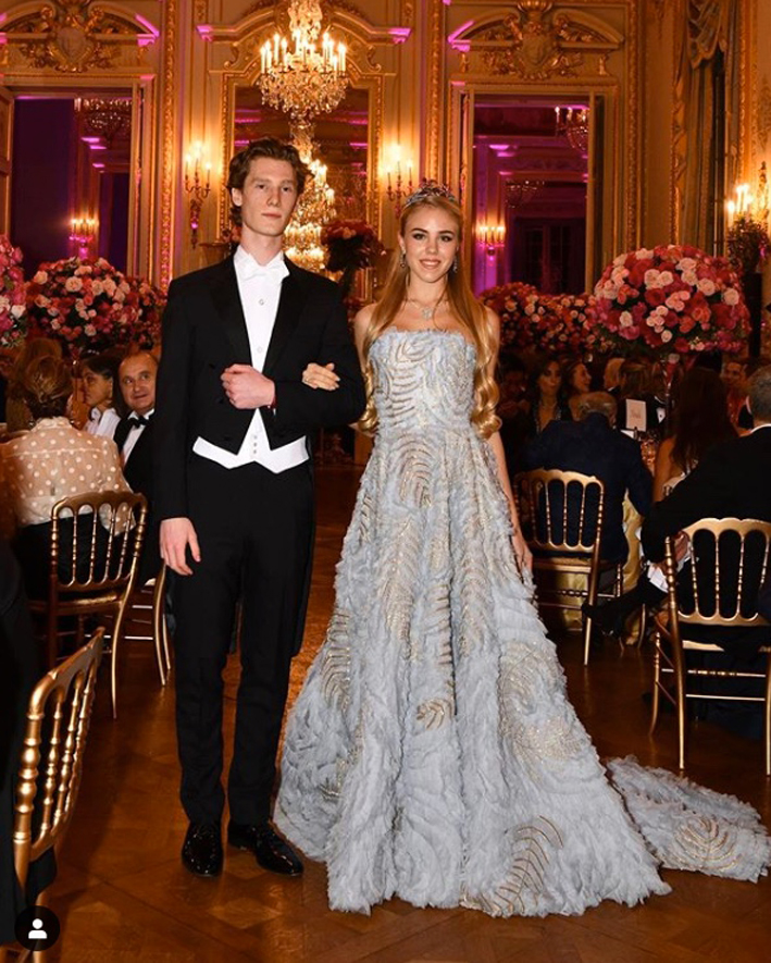 Ralph and Russo for the wonderful gown-of HRH Princess Maria Carolina (da Instagram)