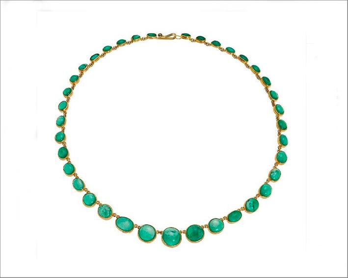 Collana di smeraldi