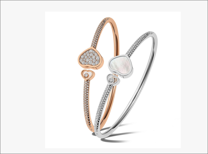 Chopard, bracciali Happy Hearts