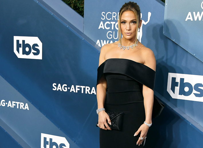 Jennifer Lopez in Harry Winston