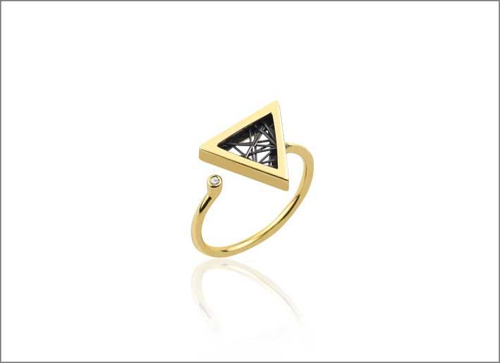 Anello della collezione Amazing Triangles