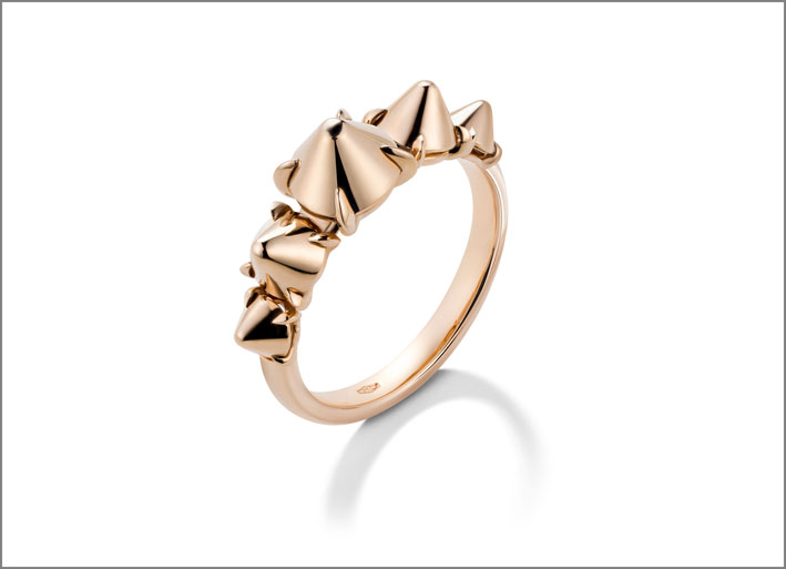 Mattioli, anello in oro rosa