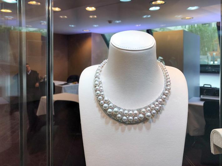 Collana di Yoko London esposta a Haute Jewels Geneva 2019