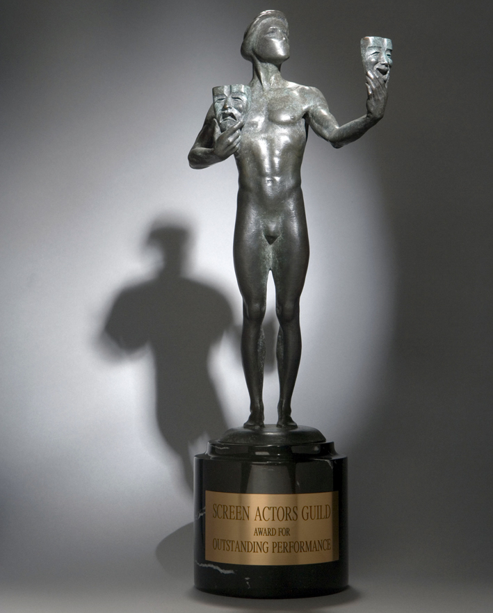 La statuetta degli Screen Actors Guild Awards