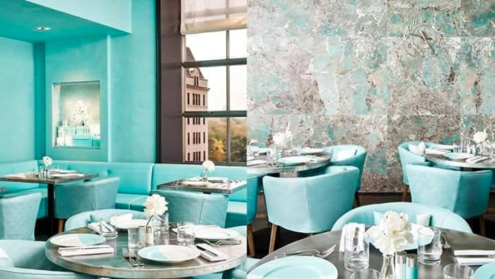 Tiffany Blue Box Café a New York