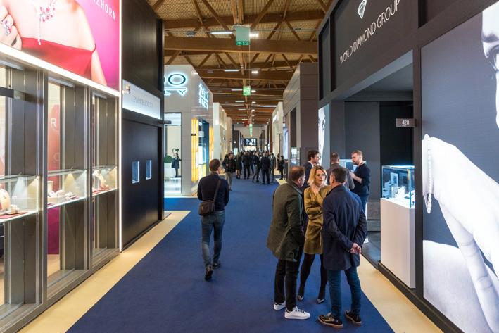 Tra i booth di VicenzaOro January. Copyright: gioiellis.com