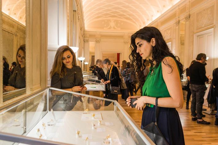 Giorgia Ionita,  Artistar Jewels 2019, Palazzo Bovara