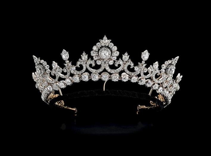 The Angelsey tiara, periodo vittoriano
