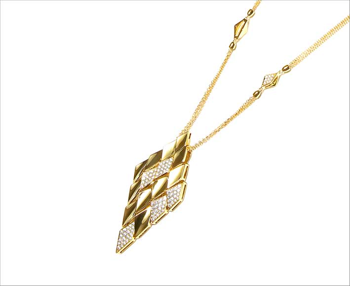 Collana in oro diamanti